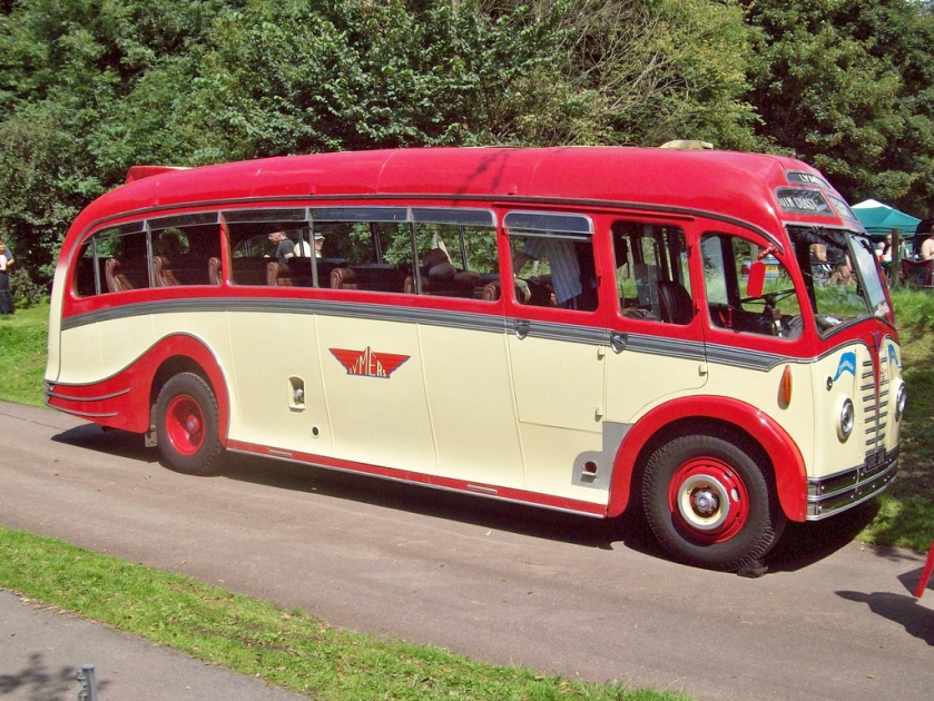 1950 AEC Regal 3 with Harrington Dorsal Fin Boby and 9600cc engine