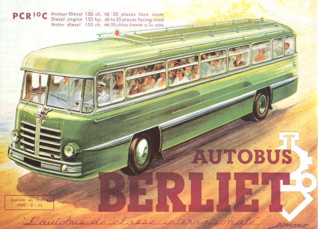 1950 Berliet Heuliez