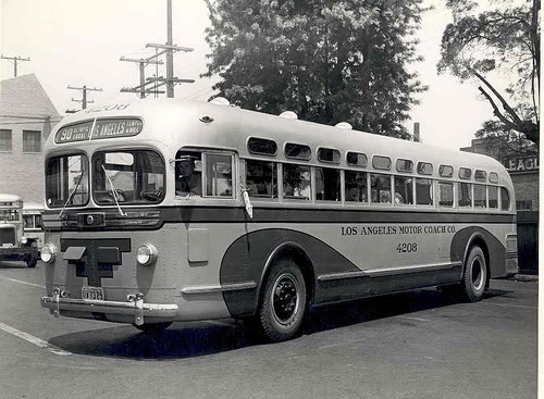 1950 GM Model TD 4502 LAMOTCOACH
