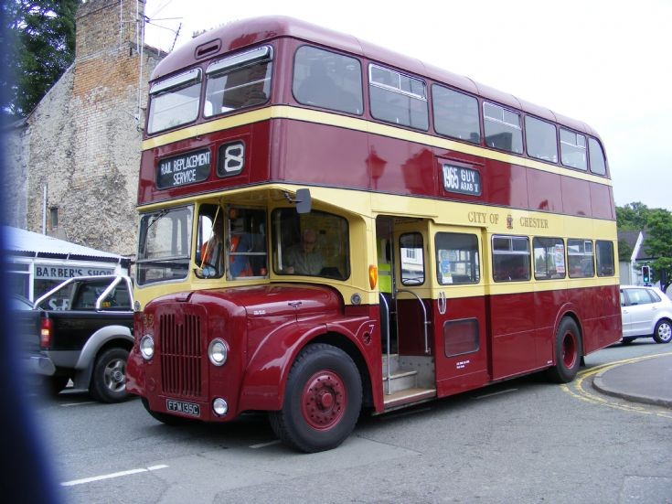 1950 Guy Arab V double deck bus