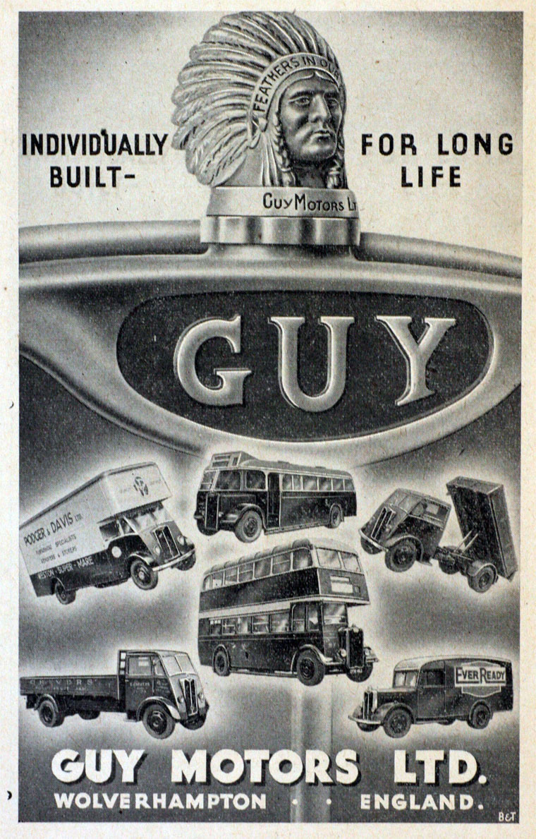 1950 Guy Motors
