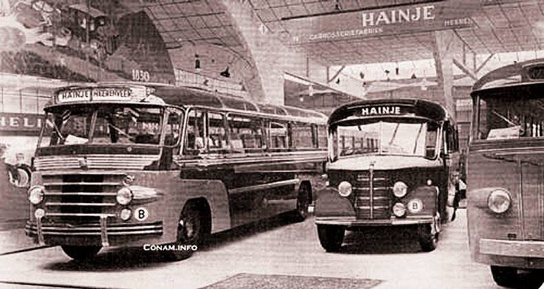 1950 Hainje op bus RAI stand 40