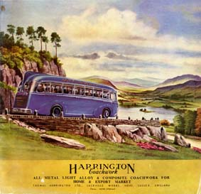1950 Harrington Ad