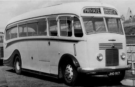 1950 Harrington body Commer Avenger chassis 23A0500 jho917