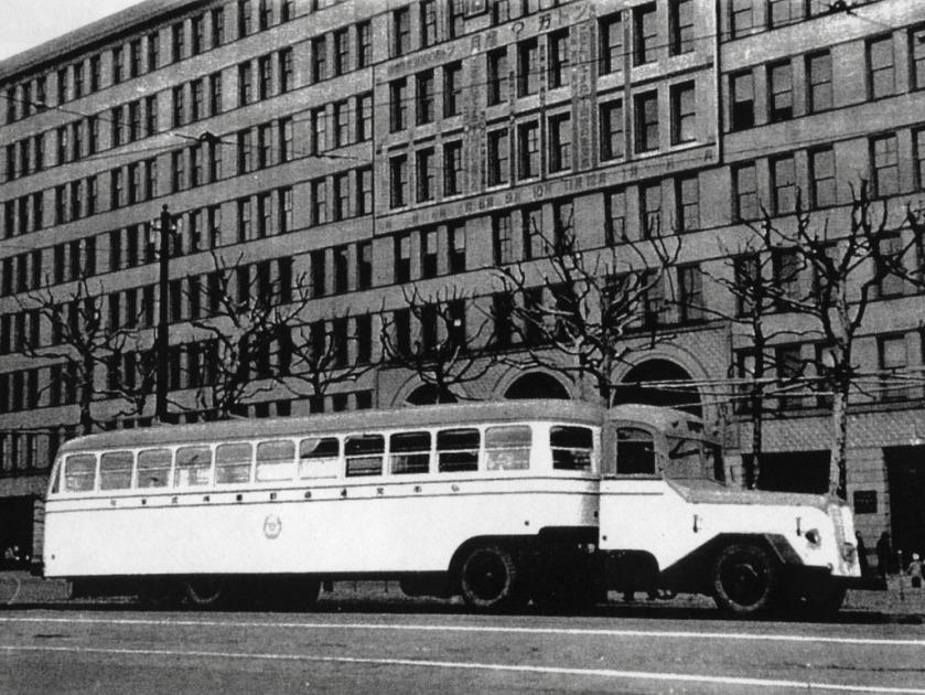 1950 Hino Type T11B + T25 Trailer Bus