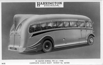 1951 Harrington Dorsal Fin Coach Builders UK