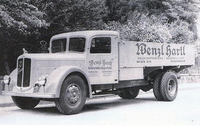 1952 Gräf & Stift LKW