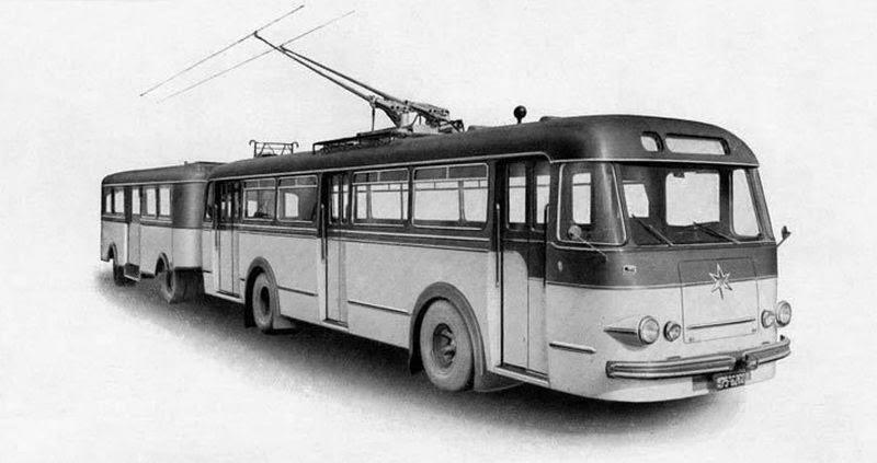 1952 Henschell trolleybus