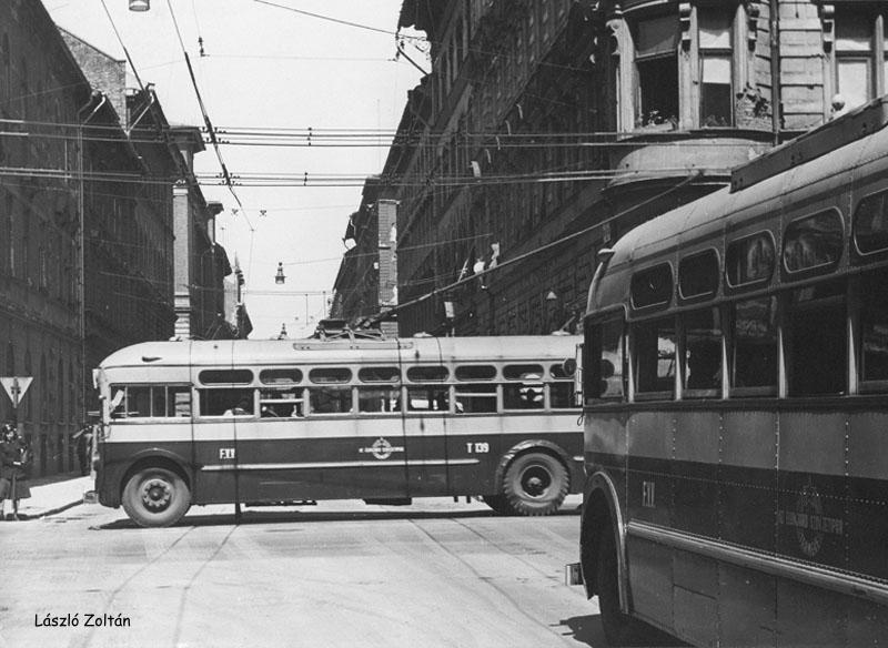 1952 mtb 82iza Trolleybus GMC