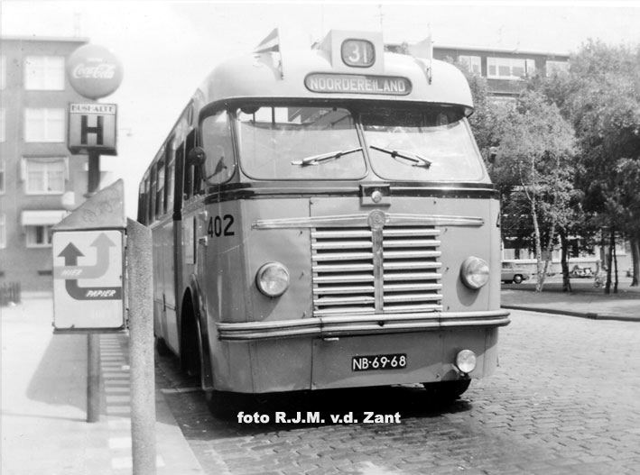 1952 Saurer N4C-H-CT2D carr. Hainje  NB-69-68