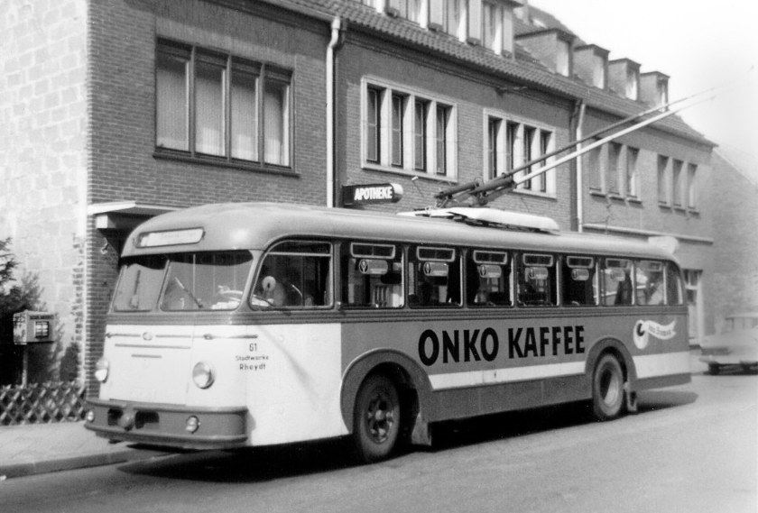 1952 Uerdingen-Henschel UHIIIs Kiepe B34 + 58D