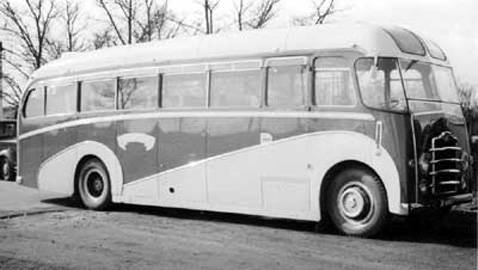 1953 Harrington Leyland PS1 JP6468