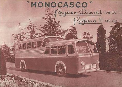 1953 Pegaso Z-403 Monogasco Enasa Brochure