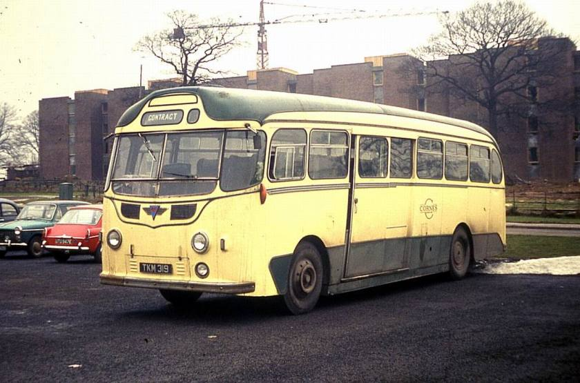 1954 AEC Reliance MU3RV with Harrington C37C bodywork