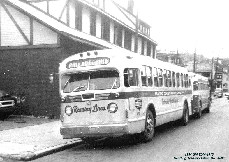 1954 GM TDM-4515 Reading Transportation Co. 4503