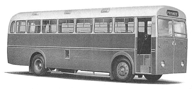 1954 Guy Warrior 43 seater Trambus with AEC 6cyl 135 bhp engine