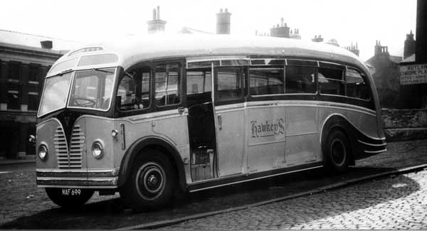 1954 Harrington Hawkey's AEC Regal MAF 699