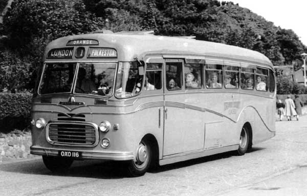 1954 Harrington OXO 116 is body number 1282 on chassis SBO 25987