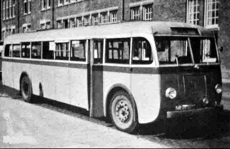 1954 Hägglund & Söner Scania vabis LTM 478