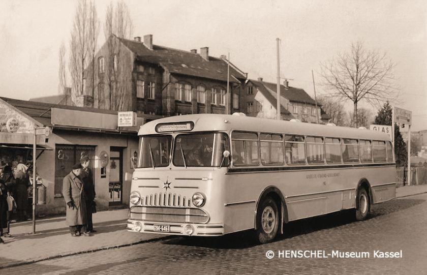 1954 KVG-Bus143 wes 1954 Henschel-Museum
