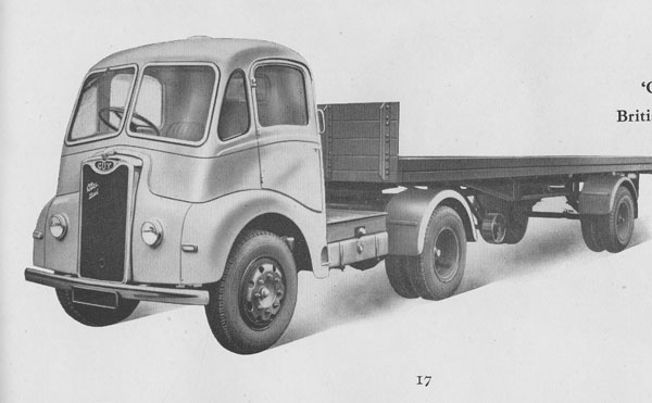 1954 Otter Tractor Vehicle, Guy Motors Ltd., Wolverhampton
