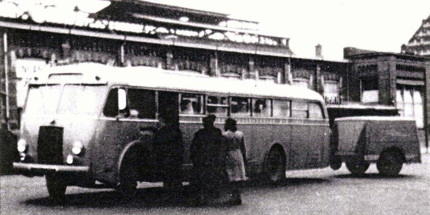 1955 Hägglund & Söner Scania Vabis Linje Buss te Arnhem
