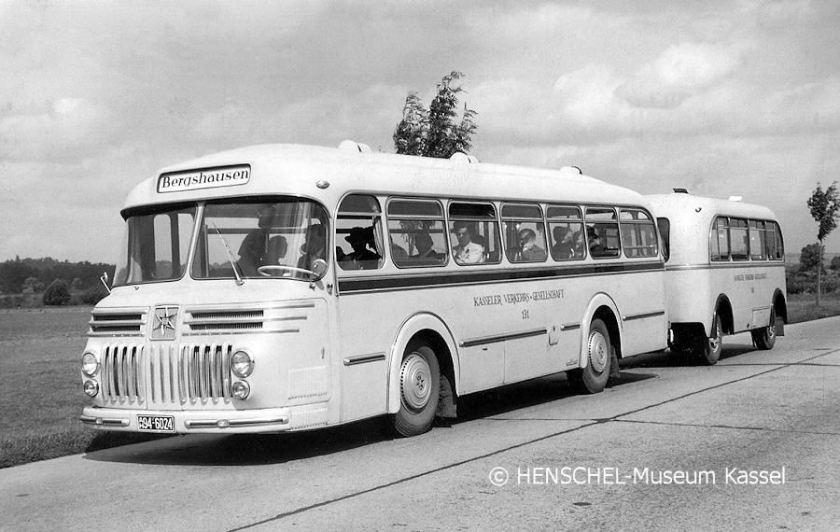 1955 Henschel KVG Bus131-Anh Henschel-Museum