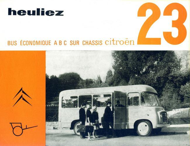 1955 heuliez bus sur chassis citroen