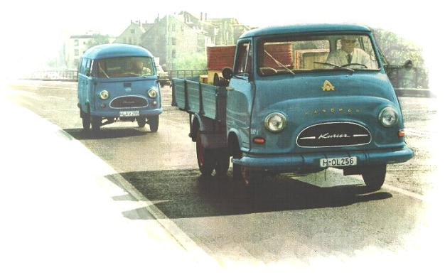 1956-66 Hanomag Kurrier ad