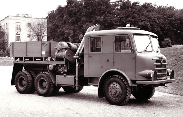 1956 Gräf & Stift ZAFD-240, Hiab 1