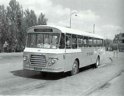 1956 Guy Kusters-bus, de EBAD 91