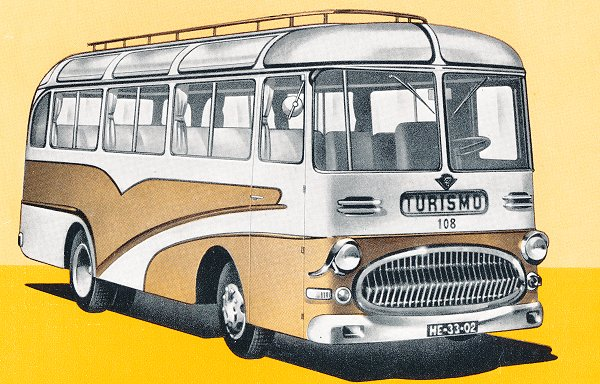 1956 Guy Seal Small capacity tourist coach 1