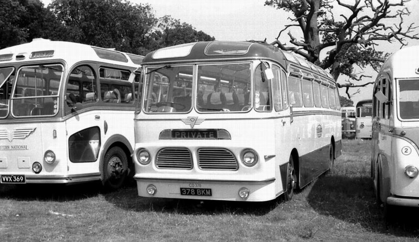 1957 AEC MU3RV Reliance with Harrington Wayfarer V C37F body