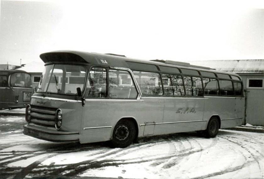1957 ESA 114-3 DAF Groenewold Verbouwd voor lijndiensten