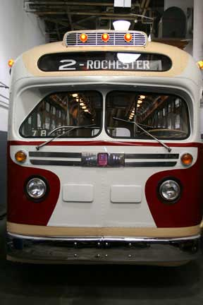 1957 GM Transit bus - Rochester, New York