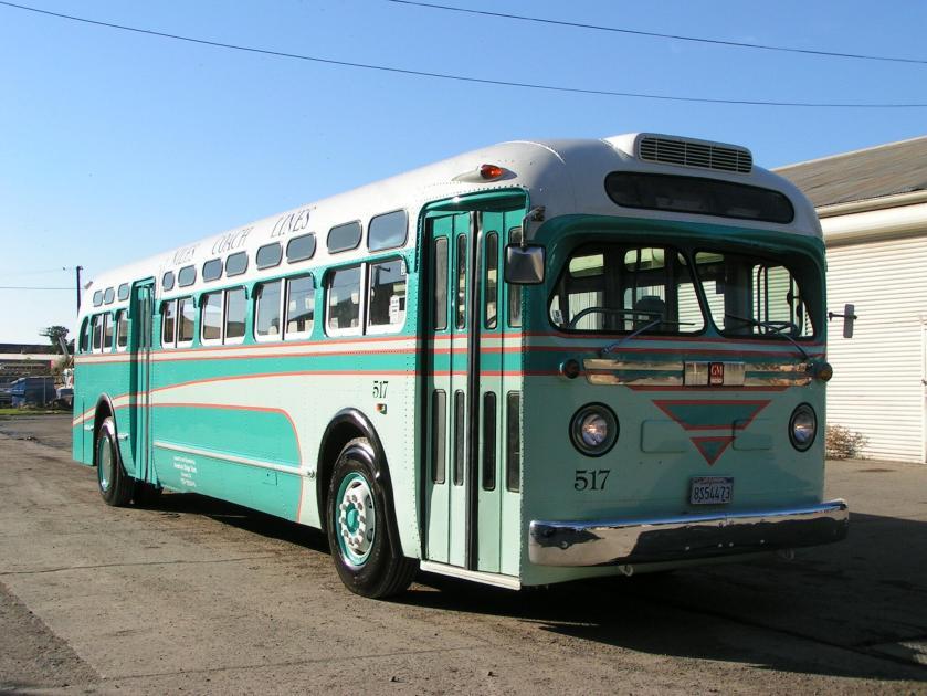1957 GM Truck & Coach Division, Pontiac, MI Model TDH48d