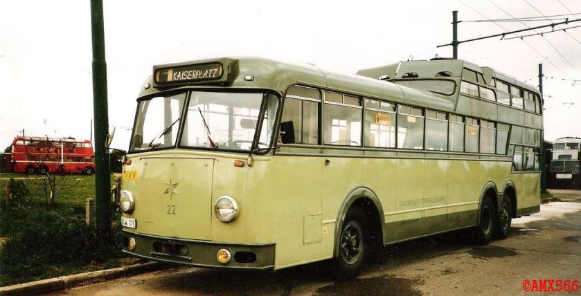 1957 Henschel Ludewig O-Bus