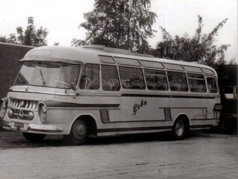 1957 Mercedes Benz Groenewold Gebo 41