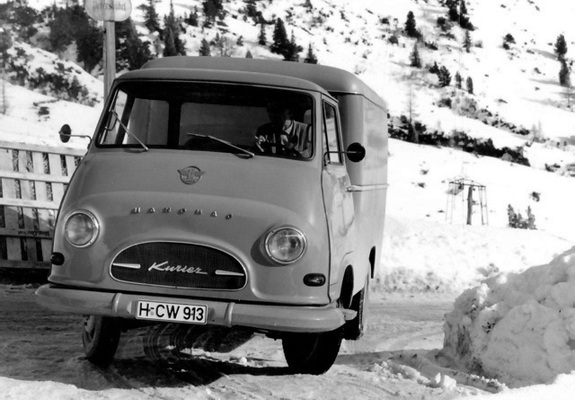1958-67 Hanomag Kurier Kofferwagen