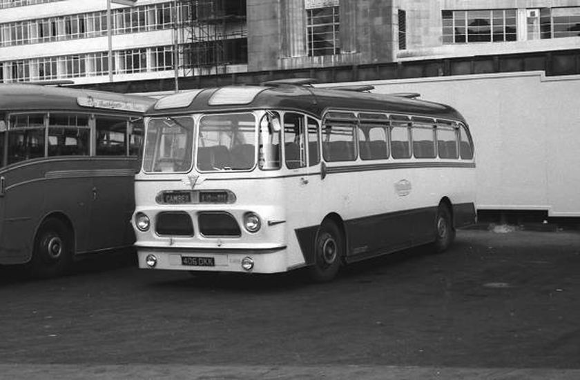 1958 AEC Reliance 2MU3RV with Harrington C41F body