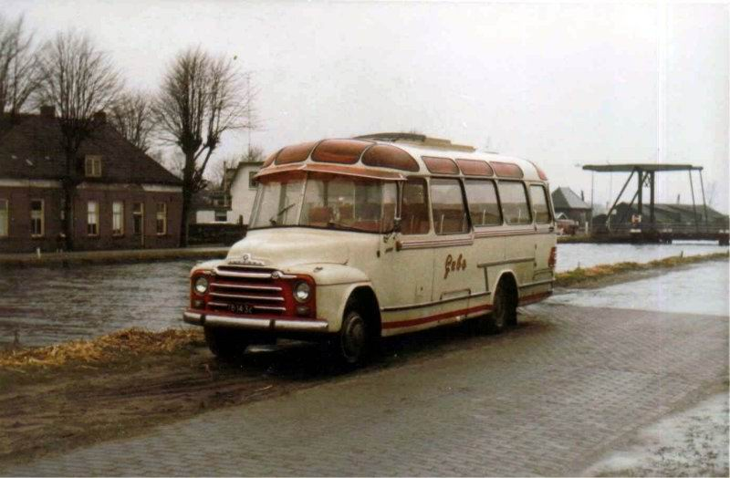1958 Bedford carr. Groenewold GEBO 22