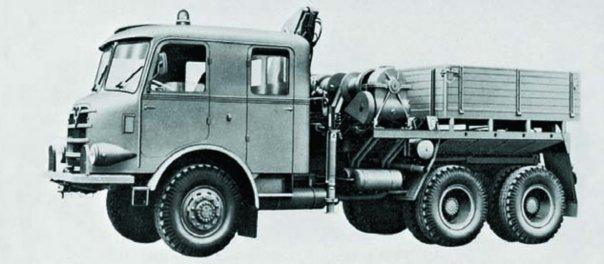 1958 Graf und Stift ZAFD-240 36, 6x6