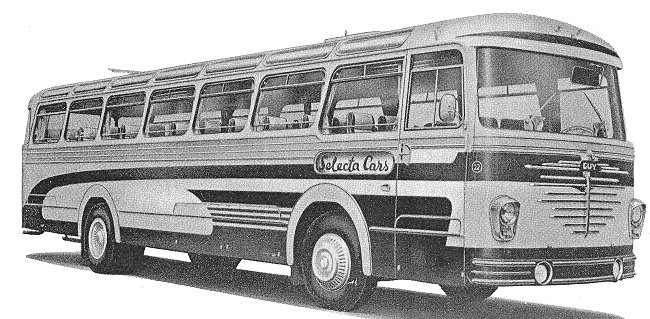 1958 Guy Victory UF 44 till 65 seater Luxery Touring Coach Victory 2