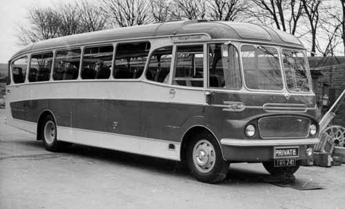 1958 Harrington Crusader mark 1 bedford crusader