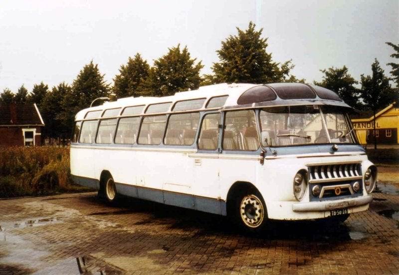 1958 Scania Vabis carr. Groeneveld Sijpkes 41