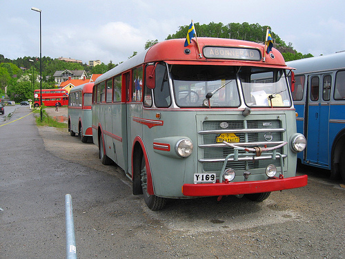 1958 Swedish Volvo B725 - Hägglunds.