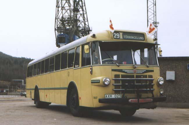 1959 Hägglund & Söner SJ Buss 112-C - 990502