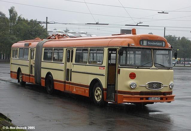 1959 Henschel HS 160 USL-G Gelenkbus ex Stadtwerke Trier SWT