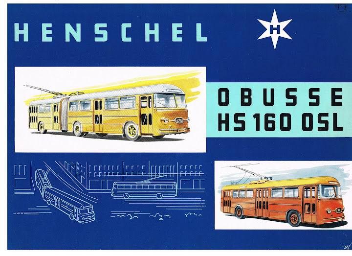 1959 HENSCHEL O BUSSE HS160OSL
