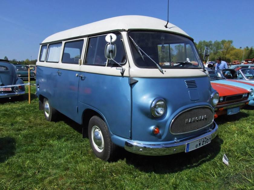 1959 Tempo Matador Kleinbus Hanomag Bus